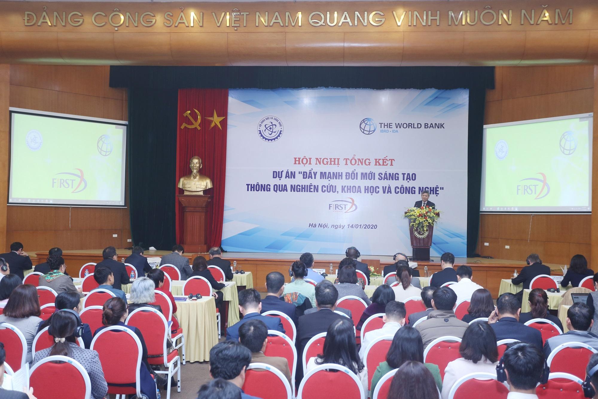 Dự án FIRST Thu hút đầu tư gần 400 tỷ đồng thúc đẩy đổi mới sáng tạo tại Việt Nam