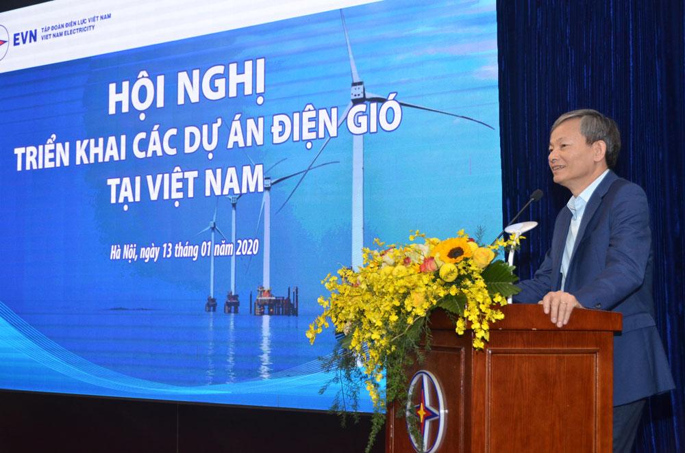 EVN tổ chức hội nghị với các nhà đầu tư điện gió tại Việt Nam