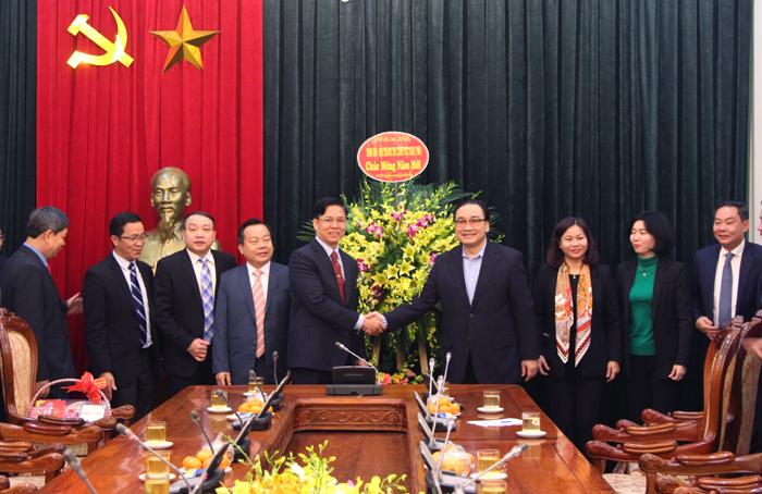 Hội thánh Tin lành Việt Nam miền Bắc chúc Tết Đảng bộ thành phố Hà Nội