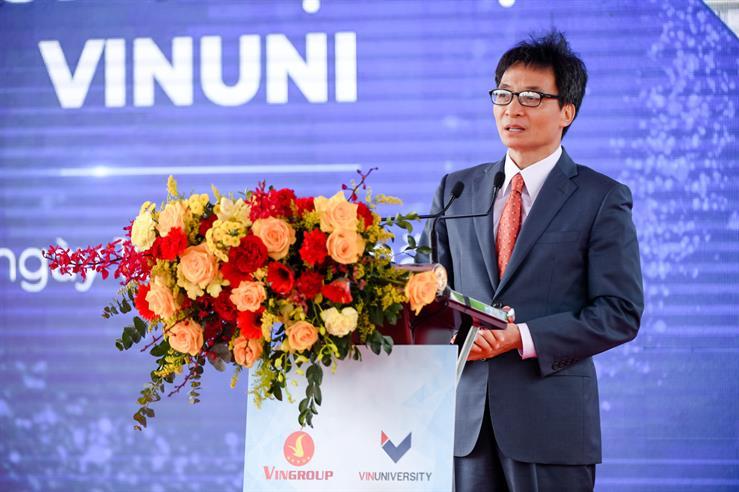 Phát triển Đại học Vinuni trở thành địa chỉ tin cậy