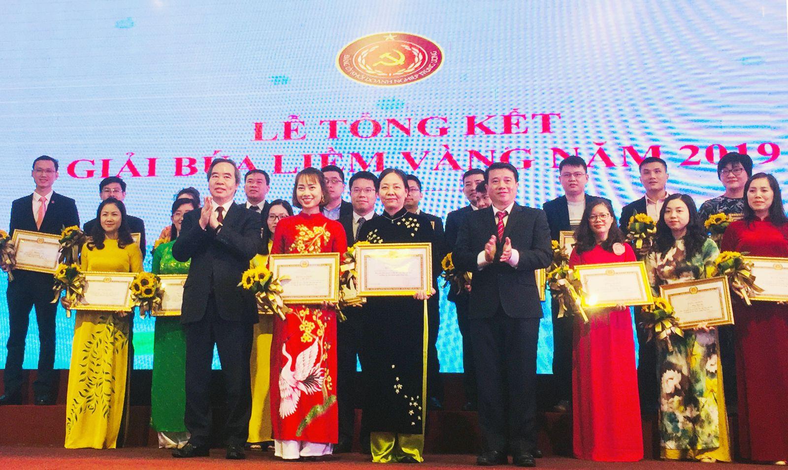 21 tác phẩm đạt giải Búa liềm vàng của Đảng ủy Khối Doanh nghiệp TW