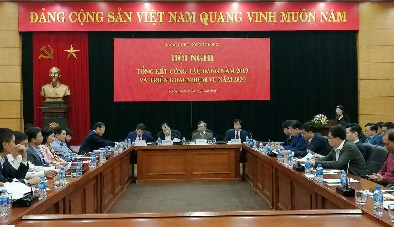 Đảng ủy Bộ Công Thương phát huy vai trò lãnh đạo hoàn thành mục tiêu kinh tế