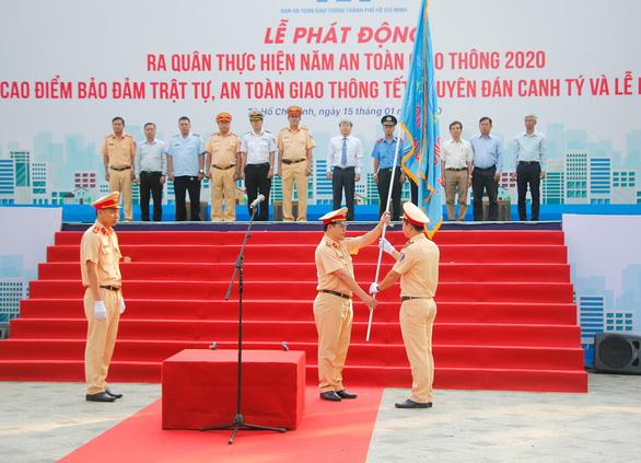 TP Hồ Chí Minh triển khai Năm An toàn giao thông 2020