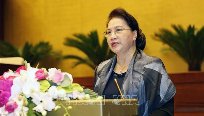 Chủ tịch Quốc hội gặp mặt nguyên lãnh đạo Quốc hội, cán bộ hưu trí Văn phòng Quốc hội