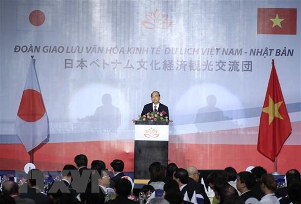Hơn 1 000 đại biểu Nhật Bản dự đêm giao lưu văn hóa Việt-Nhật