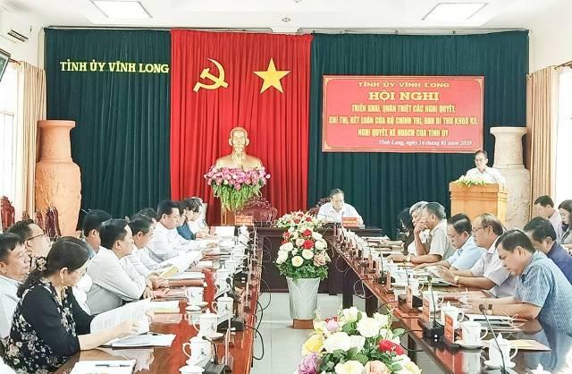 Vĩnh Long Gần 1 200 đại biểu tham gia học tập, quán triệt nghị quyết