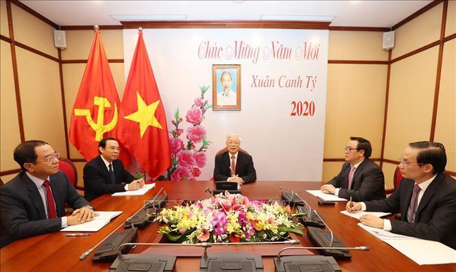 Tổng Bí thư, Chủ tịch nước Nguyễn Phú Trọng điện đàm với Tổng Bí thư, Chủ tịch nước Trung Quốc