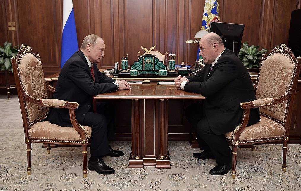 Tổng thống Nga đề cử ông Mikhail Mishustin làm Thủ tướng mới