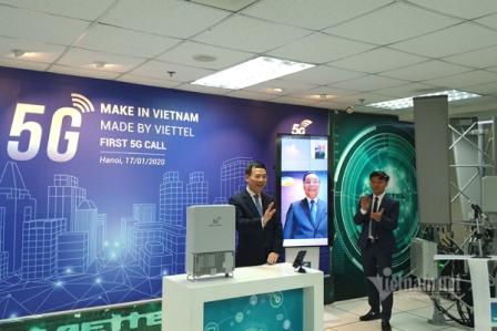 Gọi 5G bằng thiết bị của Việt Nam