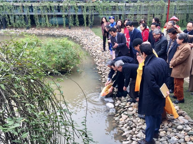 """Tái hiện nghi lễ """"Tống cựu nghinh tân"""" tại Hoàng thành Thăng Long"""