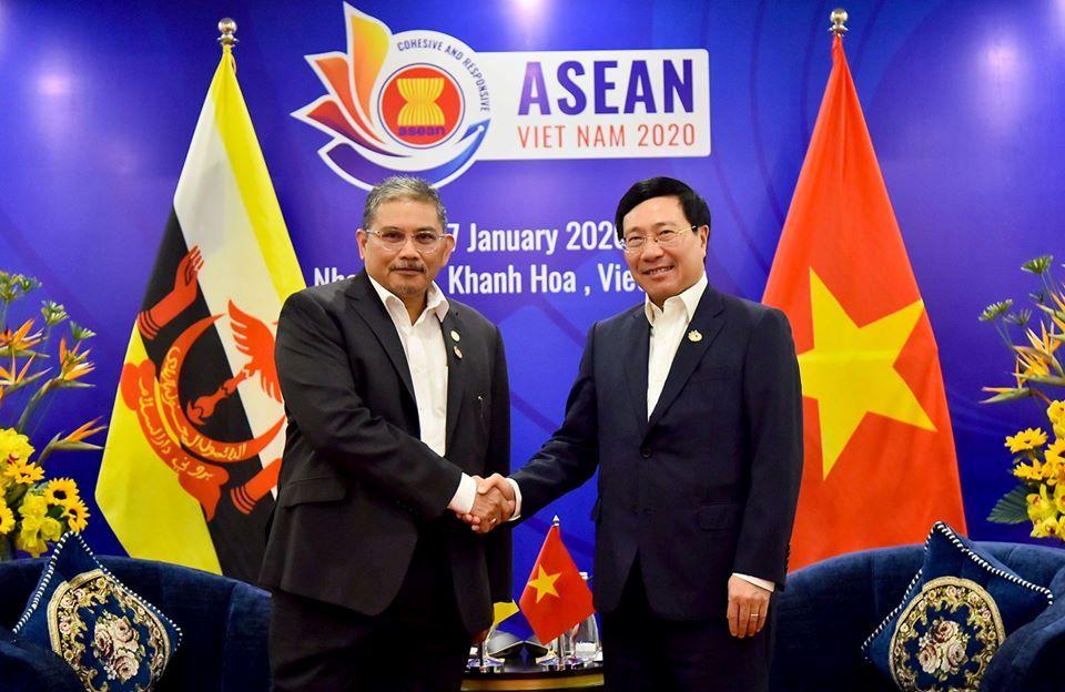 Việt Nam và Bru-nây Đa-ru-xa-lam thúc đẩy Quan hệ Đối tác Toàn diện