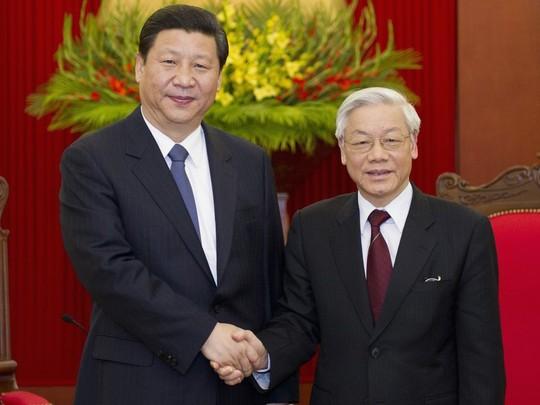 Điện mừng kỷ niệm 70 năm ngày thiết lập quan hệ ngoại giao Việt Nam - Trung Quốc