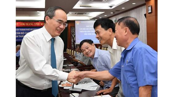 Thành ủy TP Hồ Chí Minh họp mặt cán bộ cấp cao nghỉ hưu
