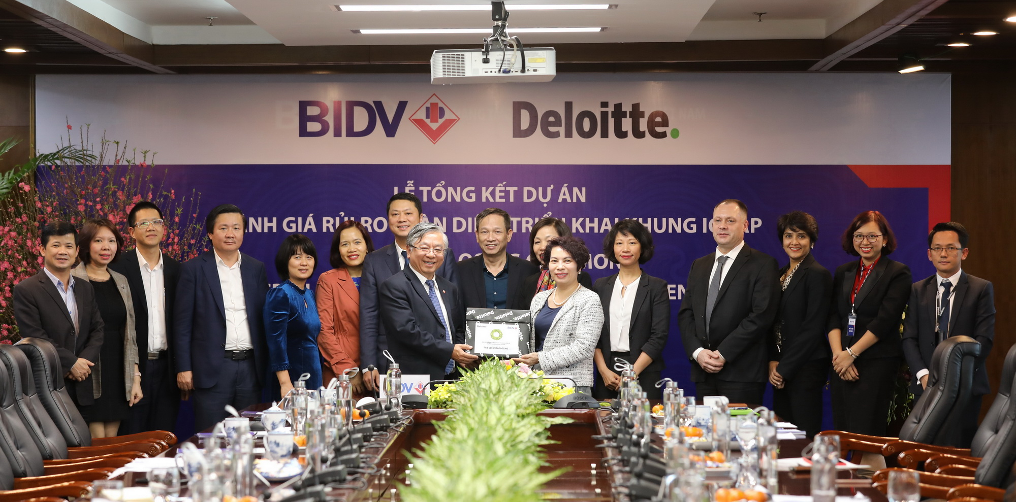 BIDV hoàn thành dự án quản lý rủi ro và quản lý vốn
