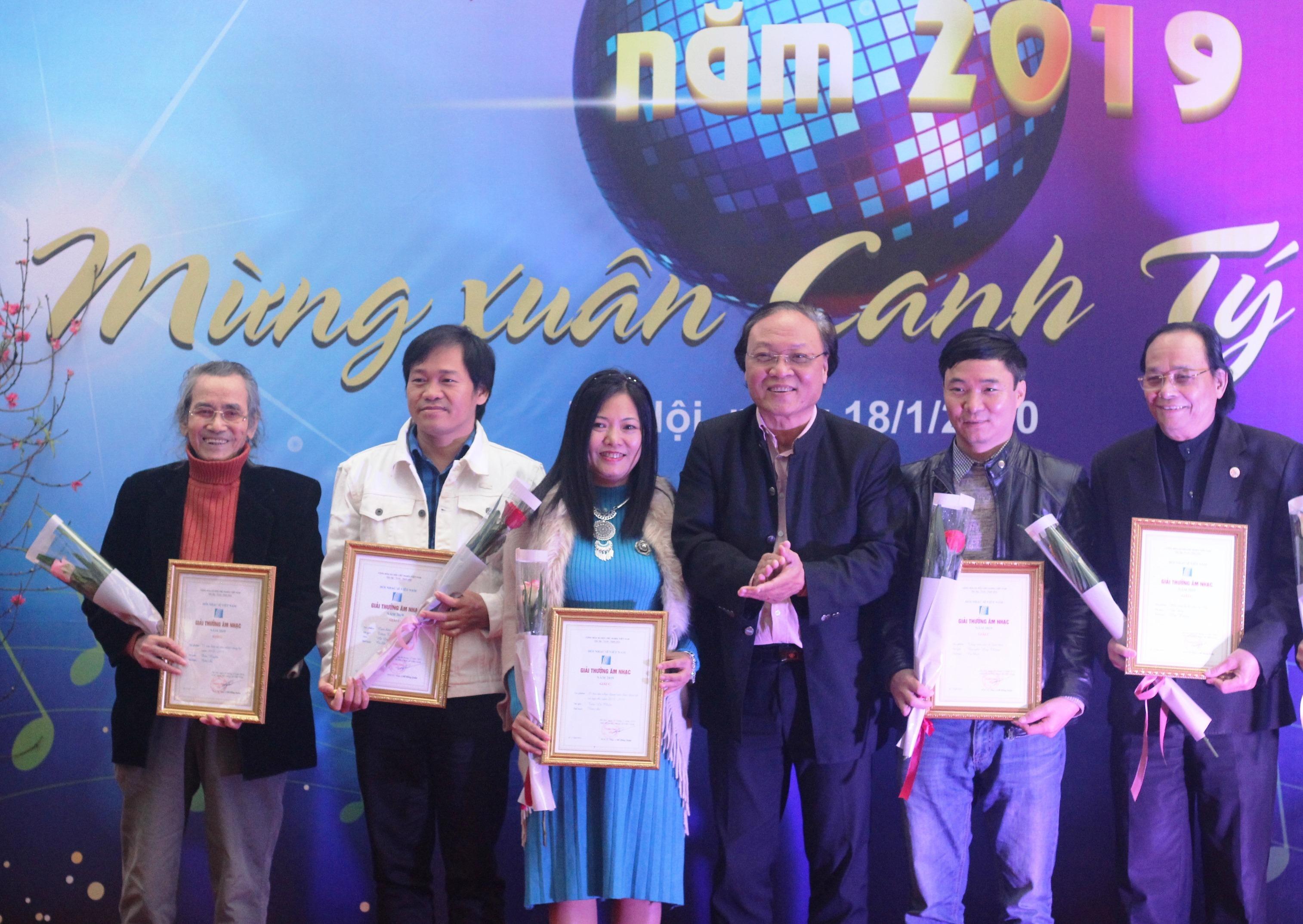 68 tác phẩm đoạt Giải thưởng Âm nhạc Hội Nhạc sĩ Việt Nam 2019