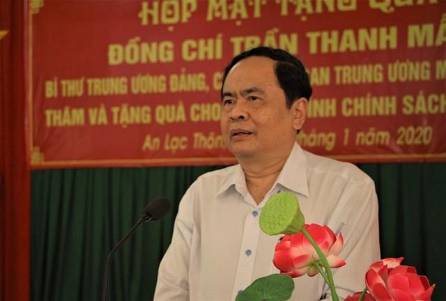 Ông Trần Thanh Mẫn thăm và tặng quà tết cho gia đình chính sách, hộ nghèo tại Sóc Trăng