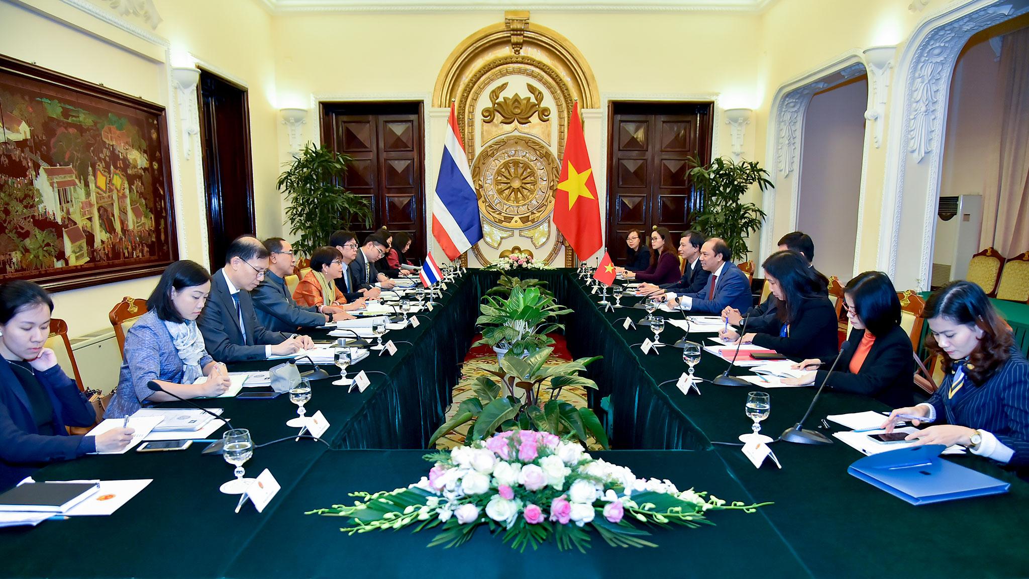 Quan hệ hữu nghị và Đối tác Chiến lược Tăng cường Việt Nam – Thái Lan có những bước phát triển mạnh mẽ, thực chất