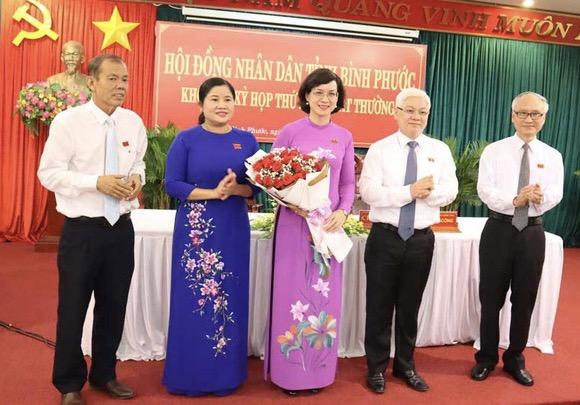 Đồng chí Trần Tuyết Minh được bầu giữ chức Phó Chủ tịch UBND tỉnh Bình Phước