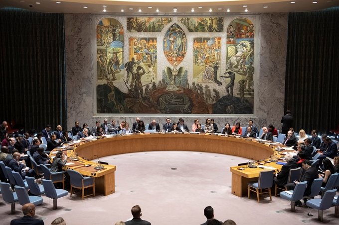Việt Nam chủ trì phiên họp của Hội đồng Bảo an Liên hợp quốc về tình hình Trung Đông
