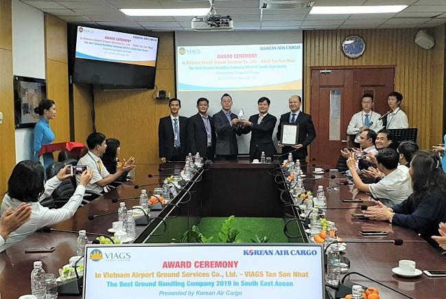 Korean Air đánh giá VIAGS phục vụ tốt nhất Đông Nam Á