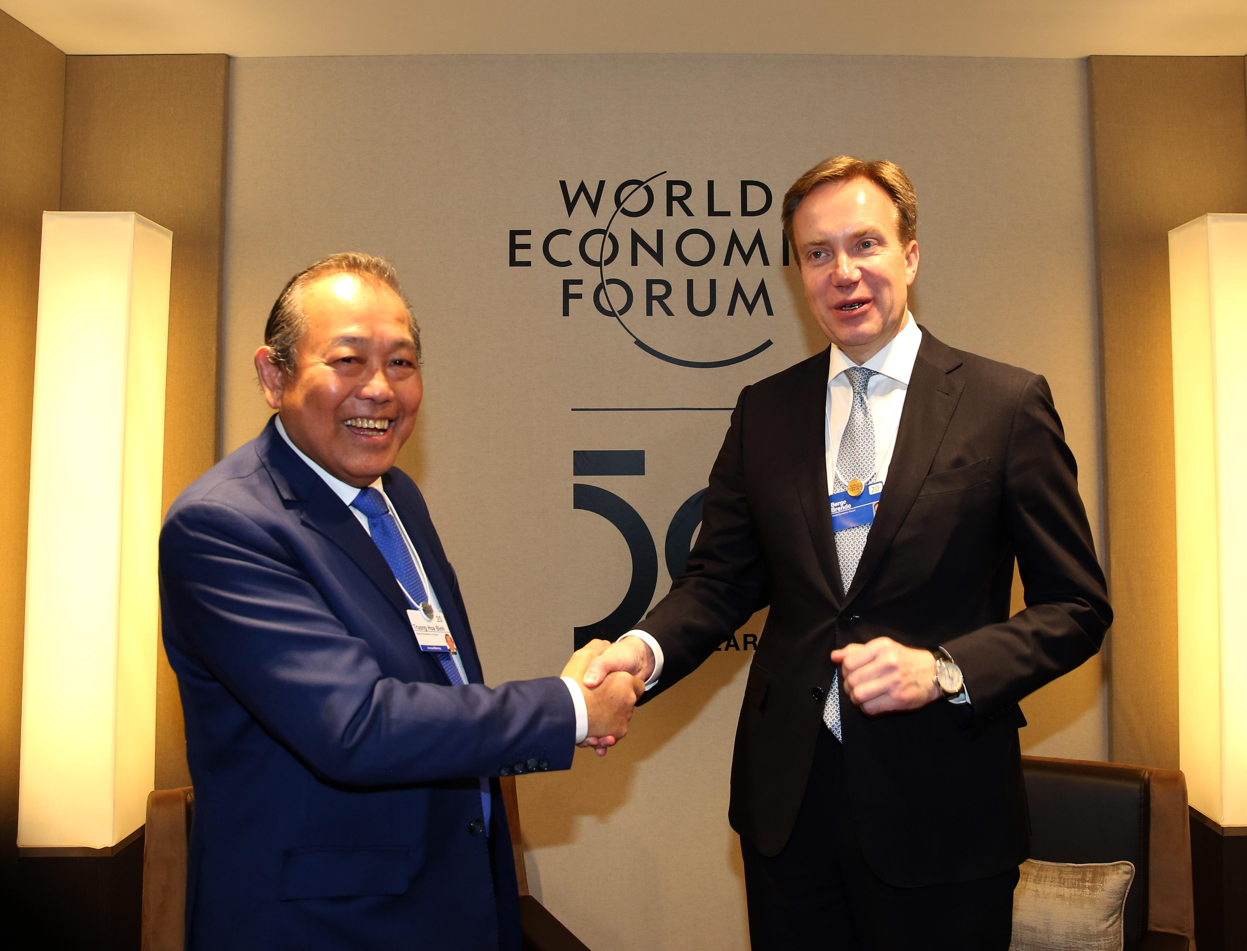 """WEF Davos 2020 """"Hợp tác vì một thế giới gắn kết và bền vững"""""""
