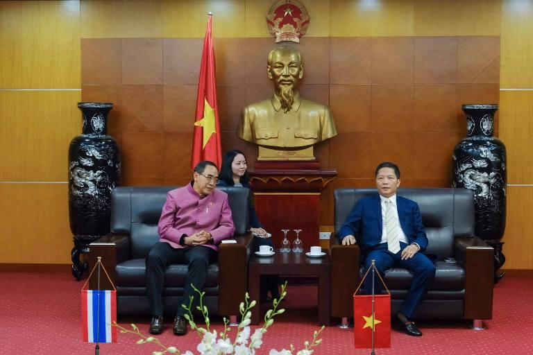 Đại sứ Thái Lan tại Việt Nam Tanee Sangrat làm việc với Bộ Công Thương
