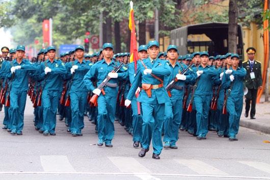 Tuyên truyền, phổ biến, tập huấn Luật Dân quân tự vệ