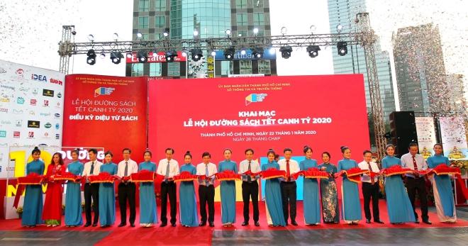 60 000 đầu sách được giới thiệu tại lễ hội đường sách Tết Canh Tý 2020
