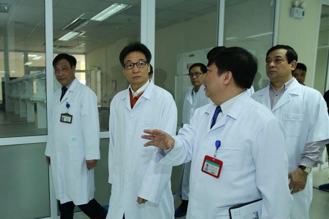 Kiểm tra công tác sẵn sàng cách ly, điều trị người bị viêm hô hấp cấp do virus Corona