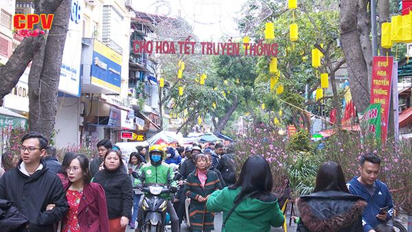 Chợ hoa Hàng Lược - Nét đẹp truyền thống giữa lòng Thủ đô