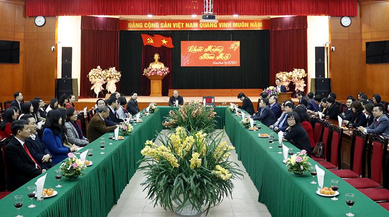 Ban Tuyên giáo Trung ương gặp mặt đầu Xuân Canh Tý