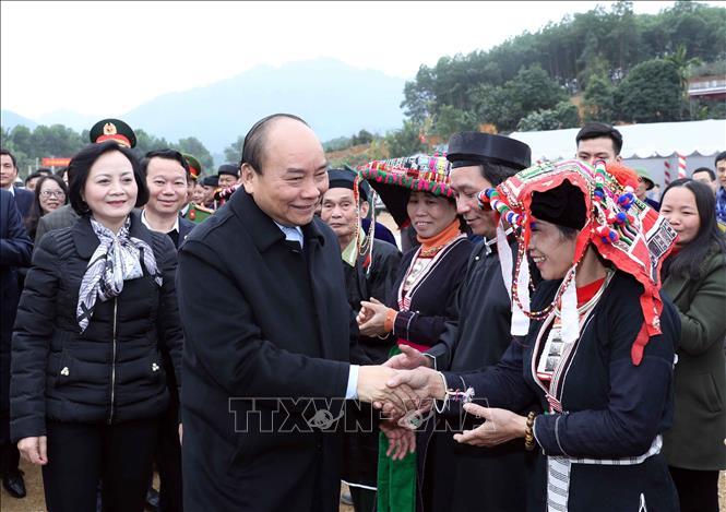Thủ tướng phát động Tết trồng cây đời đời nhớ ơn Bác Hồ tại Yên Bái