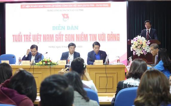 """""""Tuổi trẻ Việt Nam sắt son niềm tin với Đảng"""""""