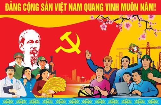 Điện mừng 90 năm ngày thành lập Đảng Cộng sản Việt Nam