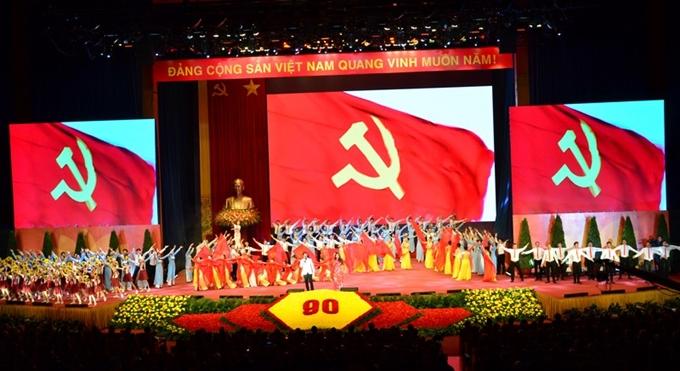 Lễ kỷ niệm 90 năm Ngày thành lập Đảng Cộng sản Việt Nam Phần 1