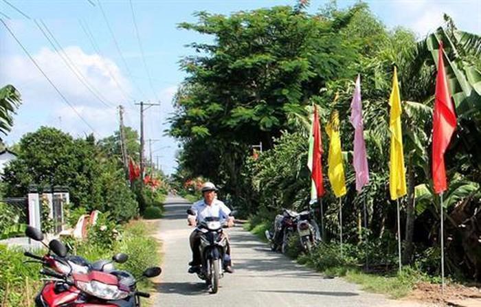 Huyện Cầu Kè, tỉnh Trà Vinh đạt chuẩn nông thôn mới