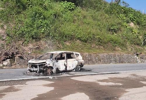 Quảng Nam Ô tô phát nổ khiến 2 người tử vong