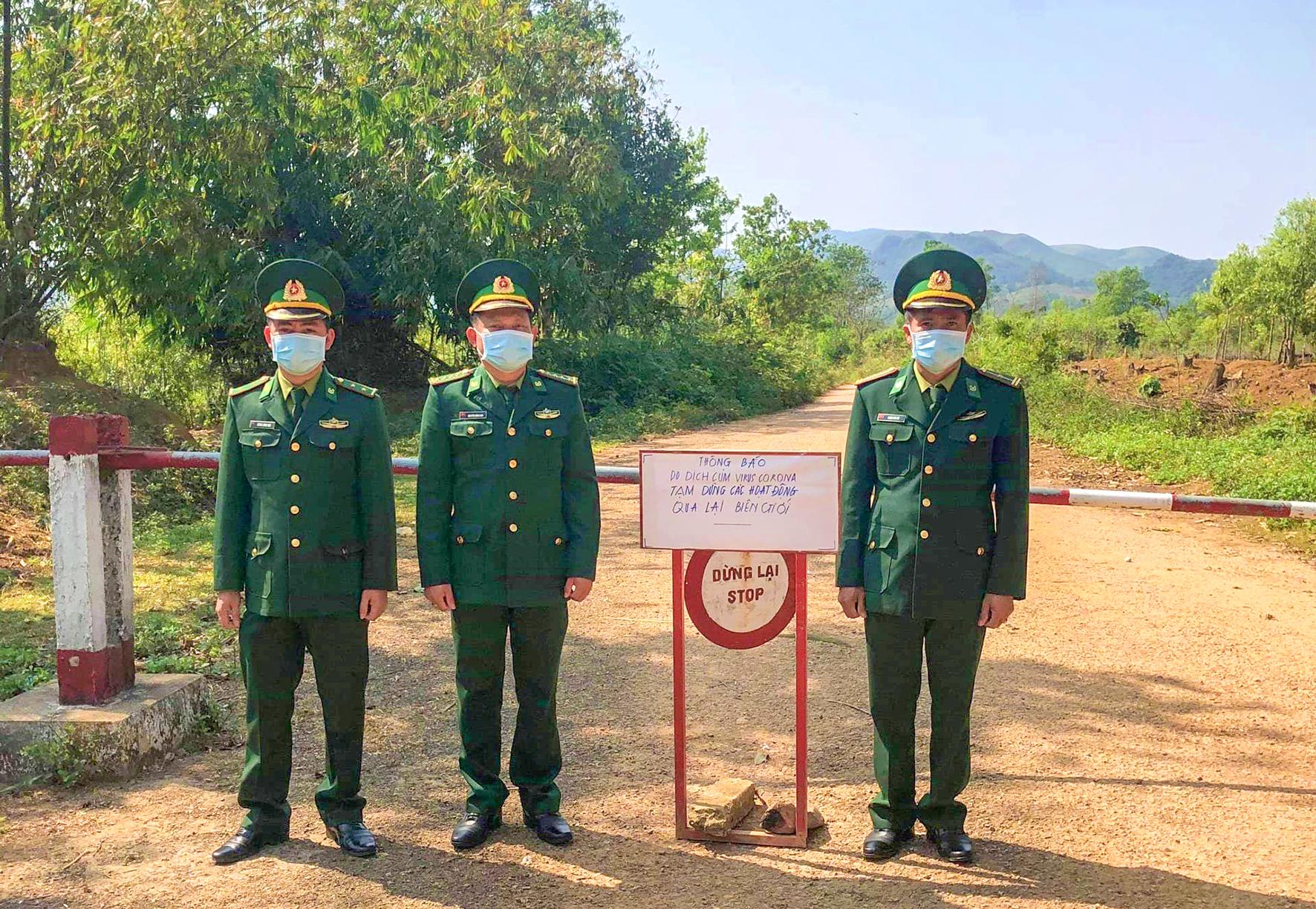 Biên phòng Quảng Trị tạm đóng 4 cửa khẩu phụ dọc tuyến biên giới Việt - Lào