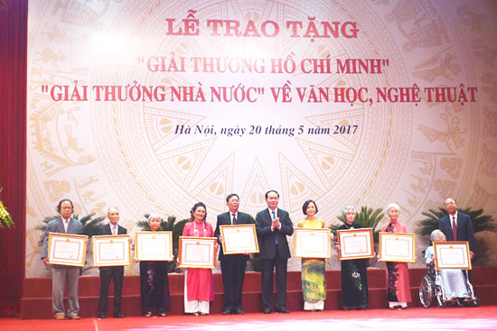 Xét tặng Giải thưởng Hồ Chí Minh về văn học nghệ thuật năm 2021