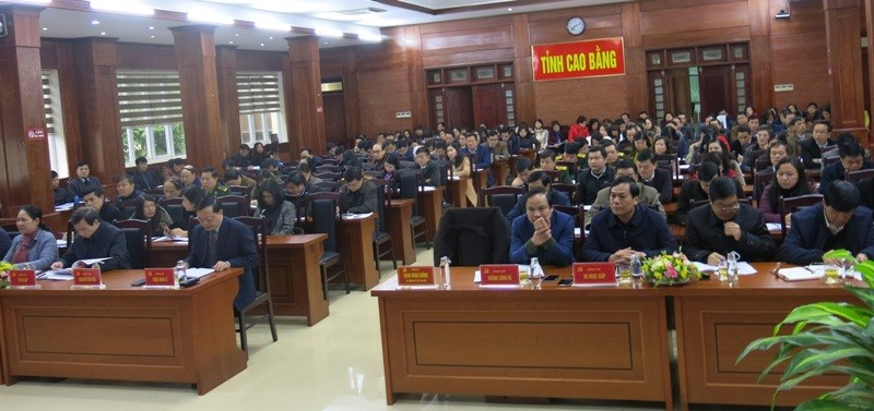 Cao Bằng Tăng cường công tác bảo vệ chính trị nội bộ