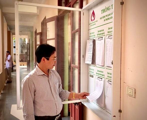 Năm 2020, điểm giao dịch NHCSXH xã Trường Sơn tiếp tục hỗ trợ giảm nghèo hiệu quả