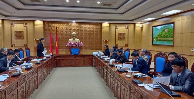 Lai Châu Lấy ý kiến dự thảo Báo cáo chính trị Đại hội Đảng bộ tỉnh lần thứ XIV