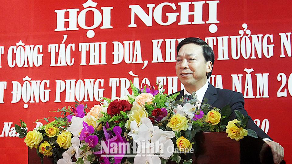 Nam Định Phát động thi đua Khối các cơ quan Đảng