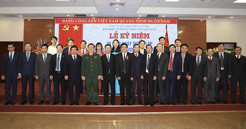 20 năm thành lập Báo điện tử Đảng Cộng sản Việt Nam