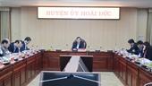 Huyện Hoài Đức và Gia Lâm chuẩn bị chu đáo cho Đại hội Đảng bộ
