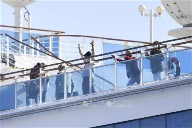 Nhật Bản xác nhận 355 trường hợp nhiễm nCoV trên du thuyền Diamond Princess