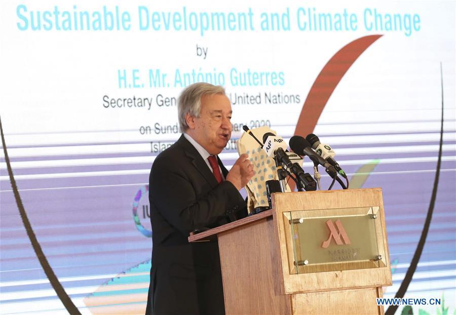 Tổng thư ký Liên hợp quốc kêu gọi chống biến đổi khí hậu