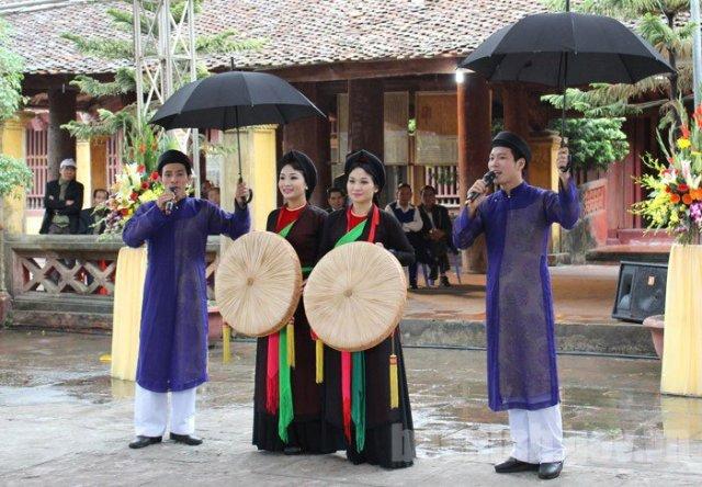 Dừng tổ chức Liên hoan hát Quan họ tỉnh Bắc Giang lần thứ VI năm 2020