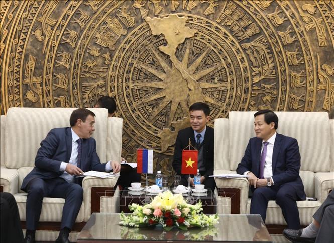 Nâng cấp hợp tác phòng, chống tham nhũng giữa Việt Nam và Liên bang Nga