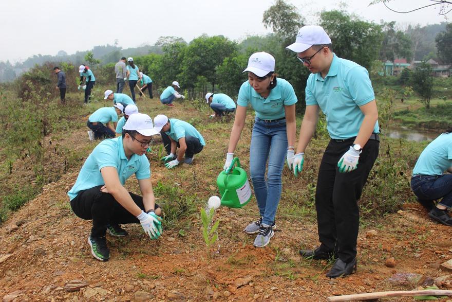 """Agribank và phong trào """"Một triệu cây xanh - Thêm cây, thêm sự sống"""